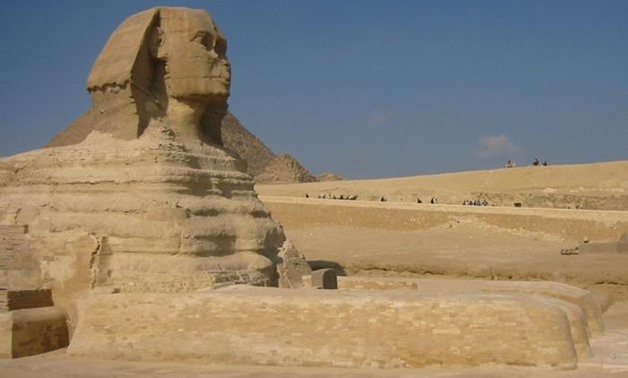 Could there be a second Sphinx buried in Giza?