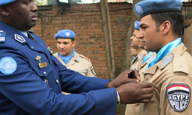 Egyptian police unit in Darfur partakes in social, charity activities