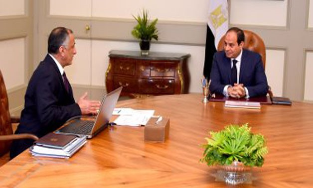 CBE Governor confirms economy is improving in meeting with Sisi
