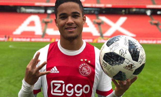 Justin Kluivert scores a hat trick for the first time