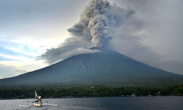 Indonesia re-opening Bali airport shut by volcanic ash