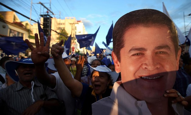 TV star urges protests as his lead shrinks in dramatic Honduras vote