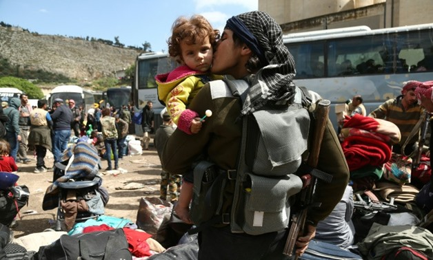 Syria S Army Vows To Finish Off Last Rebels Outside Damascus