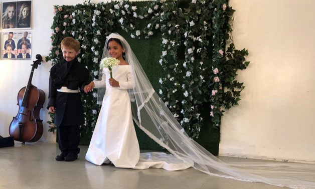 American kids recreate royal wedding for photoshoot – Akhbrna ...