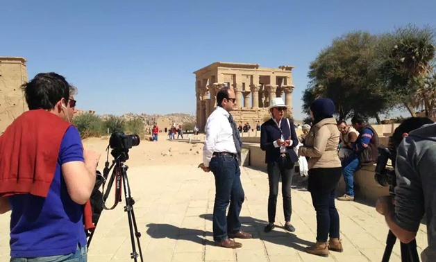 Aswan sees leap in visits by media delegations in 2017, 2018