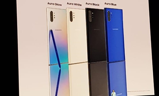 Samsung unveils Galaxy Note10 Smartphones for first time
