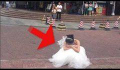 بالصور - عريس يفضح خيانة عروسته يوم زفافهم أمام الحضور !!.. إليكم التفاصيل