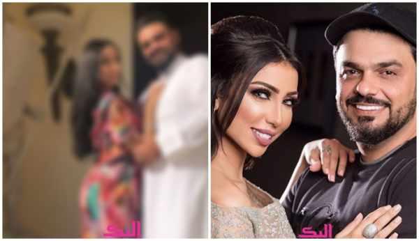 محمد الترك يضع حدا للشائعات وينشر صورة تجمعه بزوجته دنيا بطمة! شاهد   اخبارنا اليوم