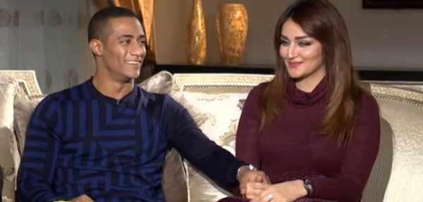 محمد رمضان يشعل مواقع التواصل بصورة مع زوجته !!.. شاهد