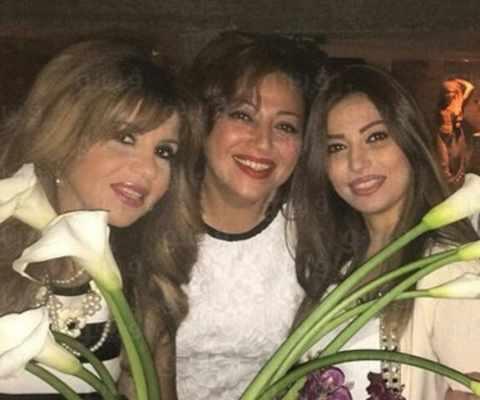 """صور.. هكذا صارت شقيقة إلهام شاهين التي كانت """"خطيبة"""" عمرو دياب قبل 30 سنة"""