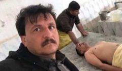 سيلفي حفار قبور مع جثة احد الموتى تثير ضجة في العراق !!!