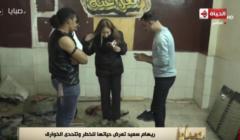 بالفيديو: ريهام سعيد تسير على زجاج حافية وتجُر سيارة!!! .. شاهد