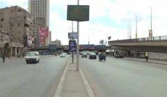 """""""الكورنيش فاضي"""".. مرور العاصمة يشن حملات لتحقيق السيولة بـ""""وكالة البلح"""" (فيديو)"""