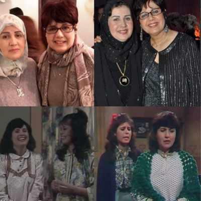 شاهد أحدث صور للفنانة المعتزلة ليلى حمادة بالحجاب