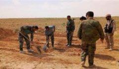 العثور على عشرات الجثث في مقبرة جماعية لضحايا تنظيم داعش بسوريا