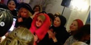 """صور مُسربة من حفل """"عيد ميلاد"""" شهيرة تثير إنتقادات لاذعة… شاهدوا كيف ظهرت!!"""