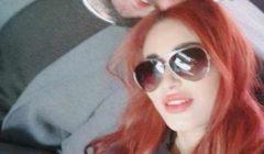 صور- زوجة أحمد الفيشاوي بشعر أحمر.. لحظات رومانسية معه على البحر