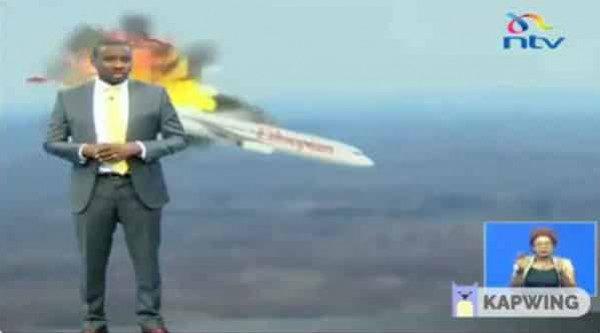 مزحة ثقيلة لمذيع تلفزيوني بشأن الطائرة الإثيوبية تجبر القناة على الاعتذار !!