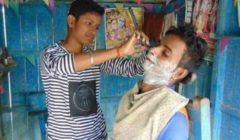 لسبب انساني .. فتاة هندية تتنكر في زي رجل .. والسبب؟!!