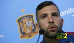 ?جوردي البا : يجب أن افوز بـ مركز اساسي في منتخب اسبانيا