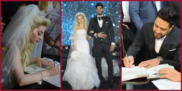 صور من حفل زفاف على جبر .. ولماذا اختار حماقي شاهداً على عقد القران ؟!