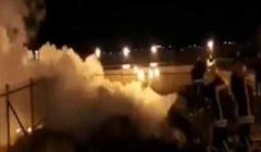 السيطرة على حريق بالمصلى المرواني بالمسجد الأقصى