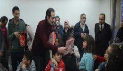 بجولة في صالة التحرير.. مؤسسة أونا تحتفل بيوم اليتم- فيديو