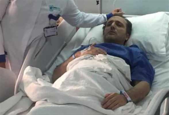بالفيديو - شريف مدكور يخضع لعملية جراحية بعد إصابته بورم في القولون
