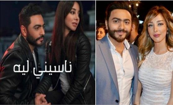 زوجة تامر حسني تتلقى تحذيرًا: إحترسي من أسيل عمران !! .. ما القصة؟