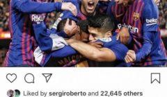 موقف حرج لبواتينج عبر الانستجرام بسبب صورة لاحتفالات برشلونة أمام أتليتكو مدريد .!
