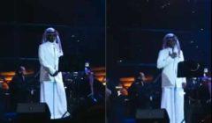 """شاهد بالفيديو : انهيار فتاة بعد إشارة """"خالد عبدالرحمن"""" بالسلام عليها في حفلة حائل"""