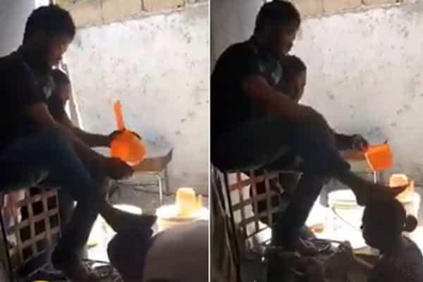 """شاهد بالفيديو : طريقة غريبة لعلاج """"الأمراض"""" في إحدى الدول الإفريقية.. والحجز قبل بشهرين!!!"""