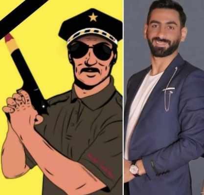 """وفاة """"شرطي المشاهير"""" راغد قيس تصدم الوسط الفني.. شاهدوا أخر صورة له من المستشفى"""