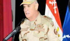 """رئيس الأركان يشهد مراسم تدشين الفرقاطة المصرية الثانية """"المعز"""""""