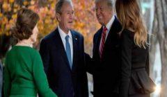 كلاهما أحاط نفسه بمُحبي الحروب.. كيف يتشابه جورج بوش الابن وترامب؟