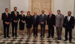 رئيس مالطا يستقبل الجروان ووفد المجلس العالمي للتسامح والسلام