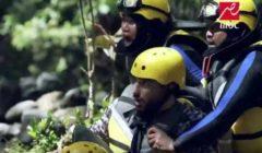"""رد فعل عنيف لمحمد الشرنوبي ضد هجوم غورلا """"رامز في الشلال"""""""