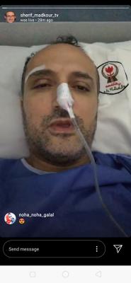 أول ظهور لشريف مدكور بعد أجراءه عملية إزاله ورم سرطاني