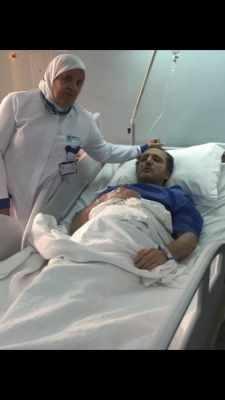 ظهور مفاجئ ... شريف مدكور بعد دقائق من خضوعه لجراحة استئصال الورم - شاهد بالفيديو