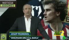 بيدريرول : غريزمان سيقول نعم لبرشلونة ..!