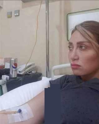 ريهام سعيد تدخل المستشفى بعد خلافها مع أيتن عامر - إليكم ما حدث بالفيديو والصور
