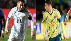 نتيجة مباراة كولومبيا أمام الارجنتين في بطولة كوبا أمريكا 2019