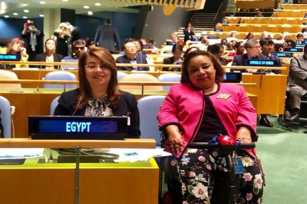"""""""قومي المرأة"""" يشارك في أعمال مؤتمر حقوق ذوي الإعاقة بالأمم المتحدة"""