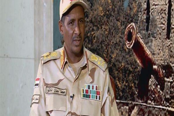 حميدتي: لا يمكن أن تأخذ المعارضة السودانية 67% من المجلس التشريعي