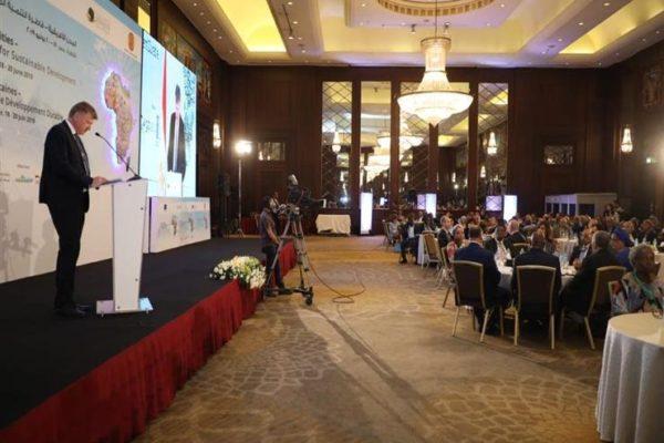 """مؤتمر """"المدن الأفريقية قاطرة التنمية المستدامة 2019"""" يواصل أعماله"""