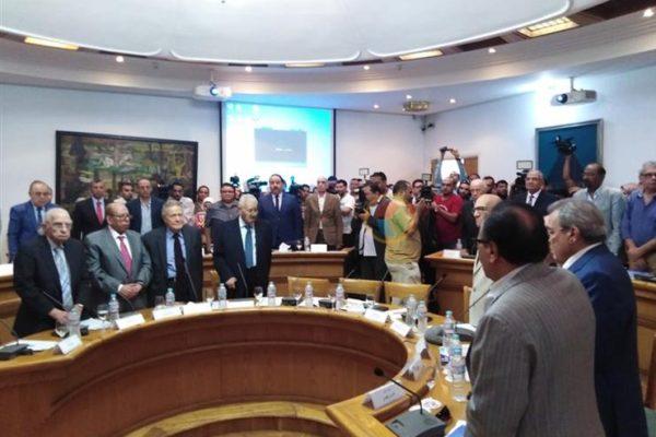بدء الاجتماع المغلق للمجلس الأعلى للثقافة قبيل التصويت على جوائز الدولة