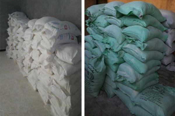 ضبط صاحب مخبز بالجيزة لقيامه بتجميع 8 أطنان دقيق مدعم لبيعها بالسوق السوداء