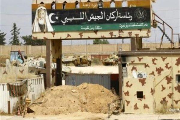 حفتر يتوعّد بضرب المصالح التركية في ليبيا