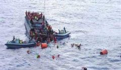 مفوضية اللاجئين تخشى من وفاة 80 مهاجرا بعد غرق قاربهم قبالة تونس
