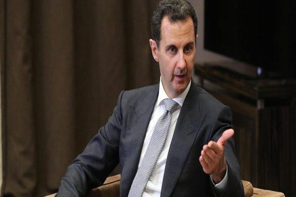 الرئيس السوري ووزير خارجية عمان يبحثان التطورات الإقليمية والدولية